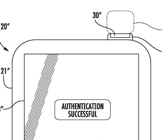 Power Button Fingerprint Sensor Patent