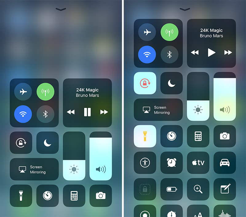 WWDC Apple 2017 - Revamped Control Center for More Control