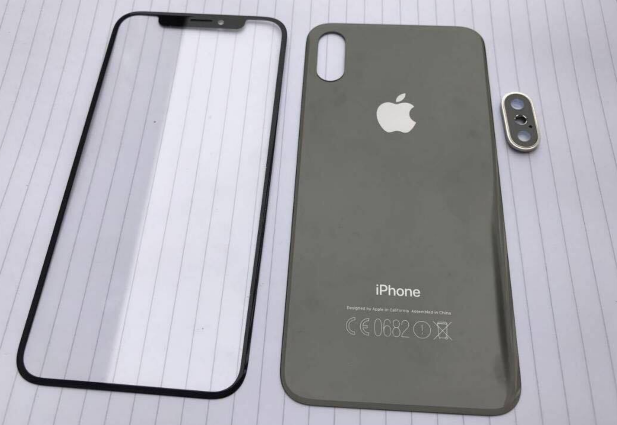 Leaked Outer shell of iPhone 8