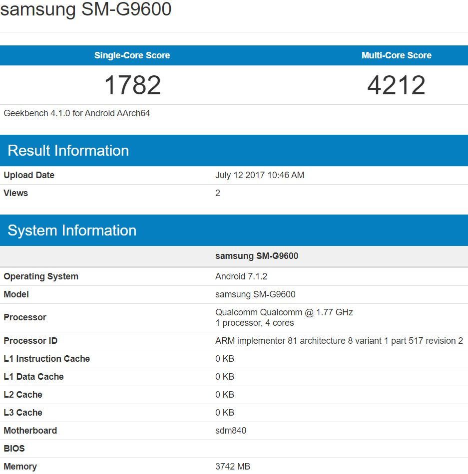 First benchmark results with Snapdragon 840