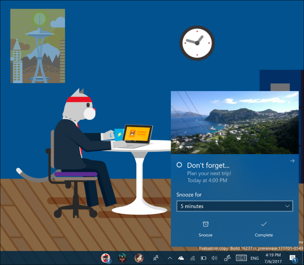 New Notification System in Creators Update