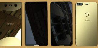 Bezel-less Xperia smartphones