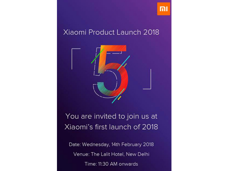 Xiaomi Redmi Word 5 India Launch Seemingly on February 14