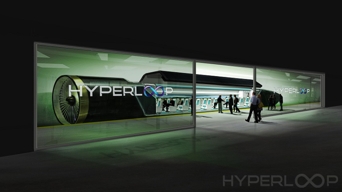 Hyperloop representative image