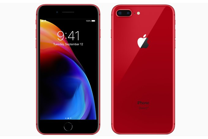 iPhone 8 and iPhone 8 Plus Red Edition