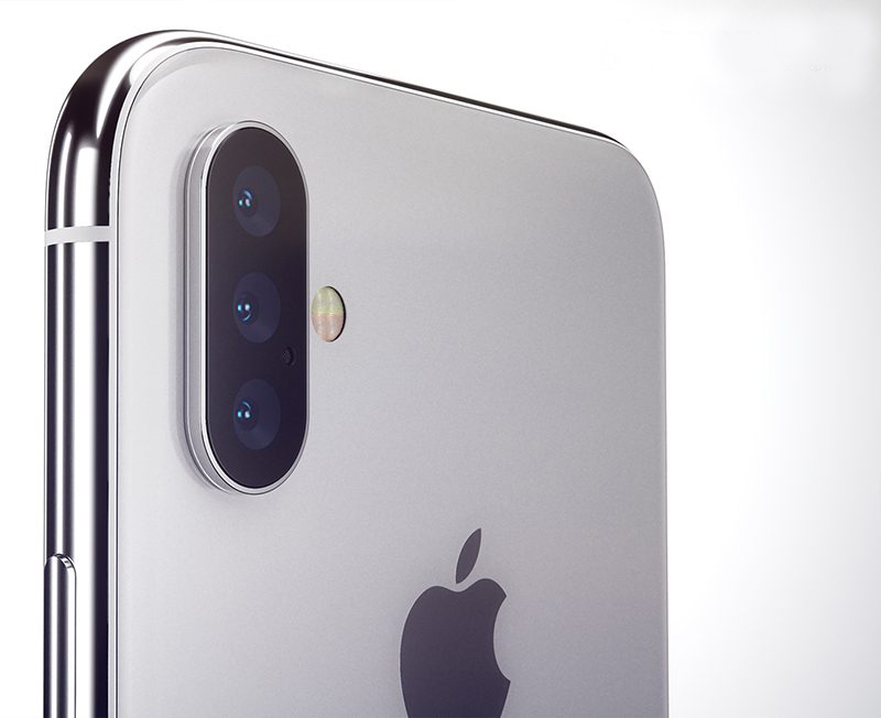 Apple's upcoming iPhone with 3 rear cameras