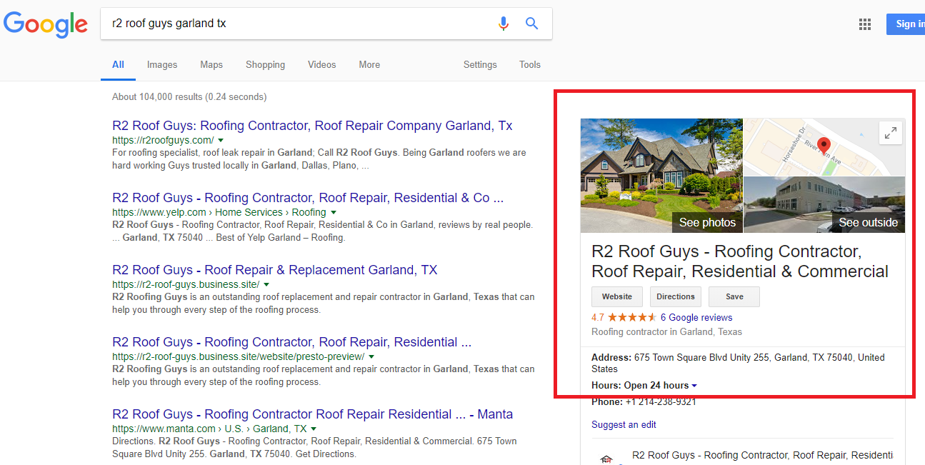 How to use google to find an honest and reliable roofing for How to find a reputable builder